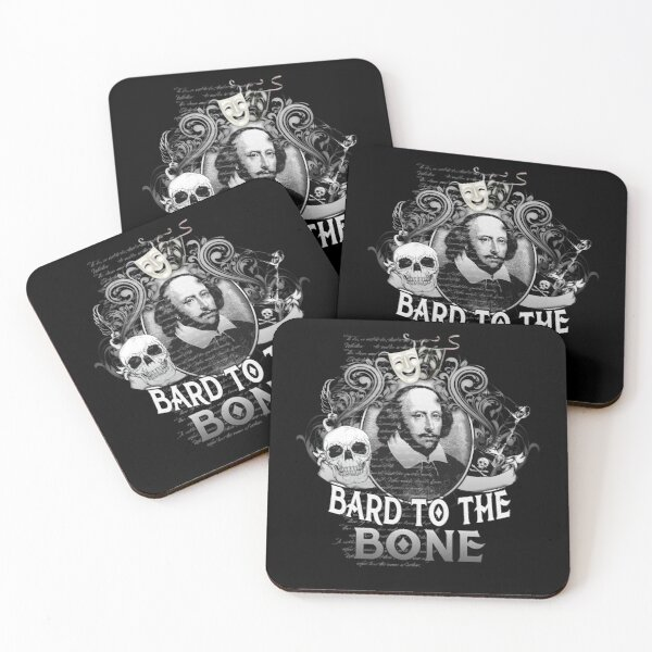 Set of 4 Shakespeare Coasters from Pub World