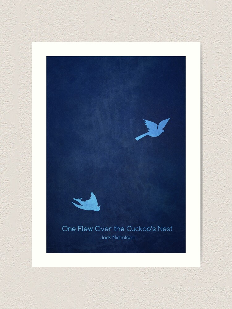 One Flew Over the Cuckoo/'s Nest Movie Wall Art Poster Print Various Sizes