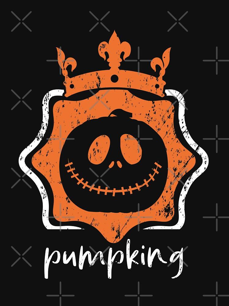 Halloween Pumpking grunge by NextLVLShirts