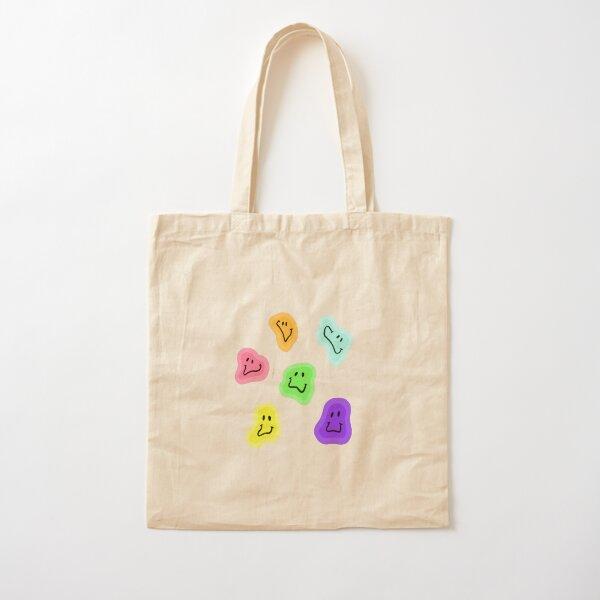 smiley faces Cotton Tote Bag