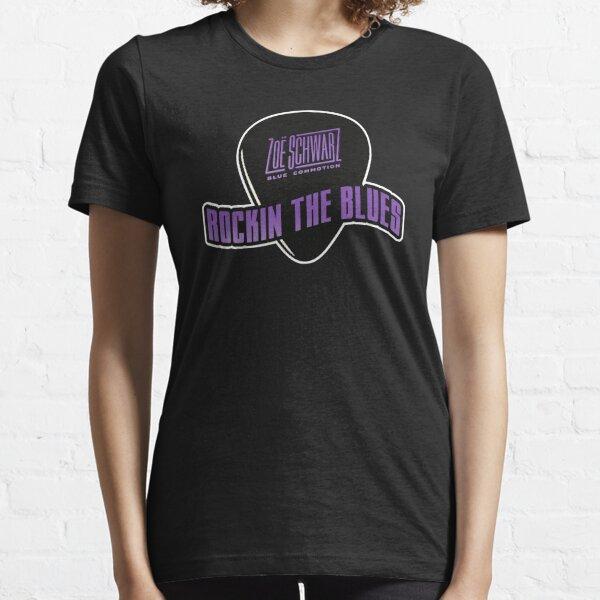 Rockin The Blues Pick Tee (purple) Essential T-Shirt