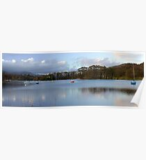 Lake Coniston Panorama Poster