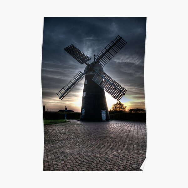 Ellis Windmill Poster