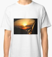 Leaving Sunset Behind Classic T-Shirt