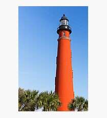 Lighthouse at Ponce Inlet Photographic Print