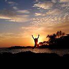 sunset by nilantha77