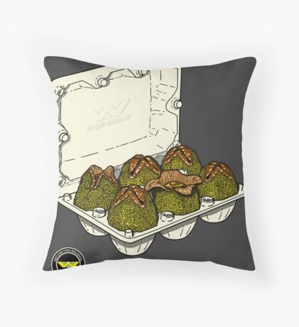 Food for the future. Throw Pillow
