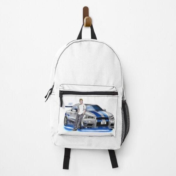 """""""For Paul"""" Fast and the Furious Backpack"""