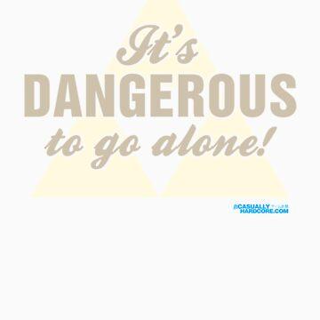 It's Dangerous To Go Alone! by GeekGamer