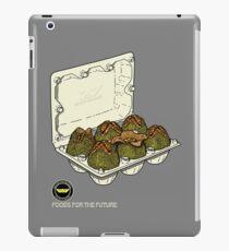 Food for the future. iPad Case/Skin