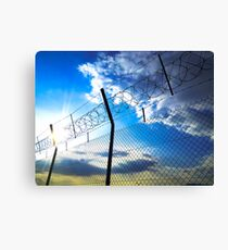 Border Canvas Print