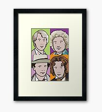 The Doctors 5 to 8 Framed Print