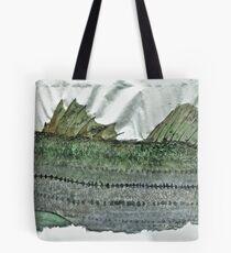 Gyotaku - Striped Bass - Rock Fish - Striper Tote Bag