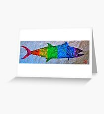 Prideful Mackerel - P-Town - Spectrum Greeting Card