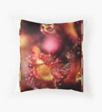 Polacolor Floral 4 Throw Pillow