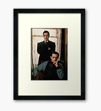 The Godfather - Al Pacino, Robert De Niro Framed Print