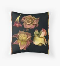 Polacolor Floral 5, Reproduction Throw Pillow