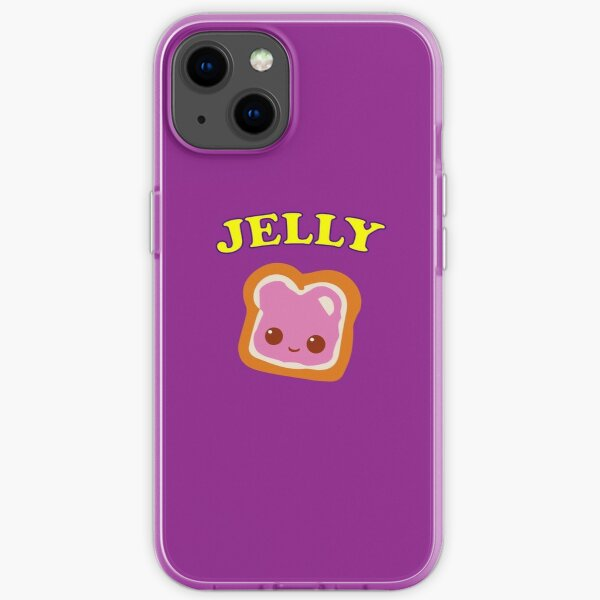Couple - (Peanut Butter &) Jelly iPhone Soft Case