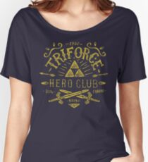 Triforce Hero Club Women's Relaxed Fit T-Shirt