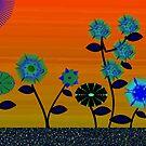 Flower patch by IrisGelbart