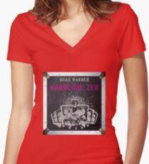 Hardcore Zen German cover Women's Fitted V-Neck T-Shirt