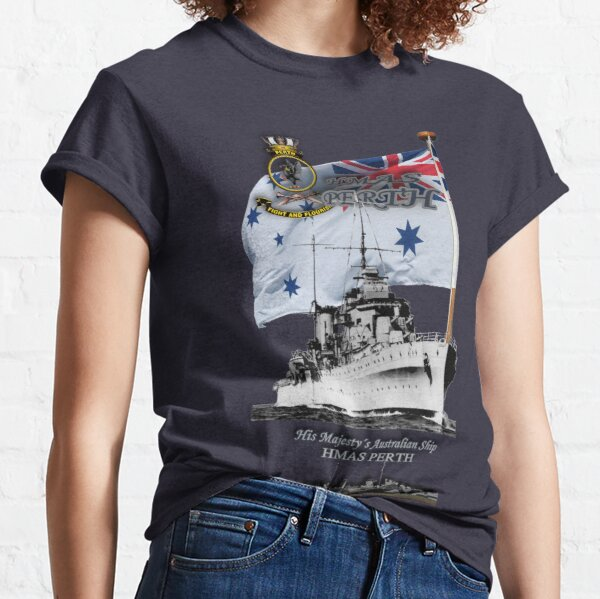 """HMAS Perth"" Classic T-Shirt"