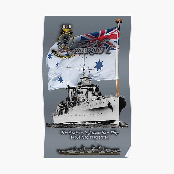 """HMAS Perth"" Poster"