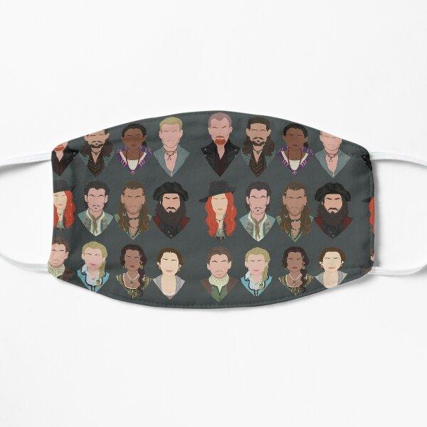 Black Sails characters (faceless) Mask
