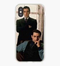 The Godfather - Al Pacino, Robert De Niro iPhone Case
