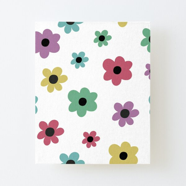 Flower Power Canvas Mounted Print