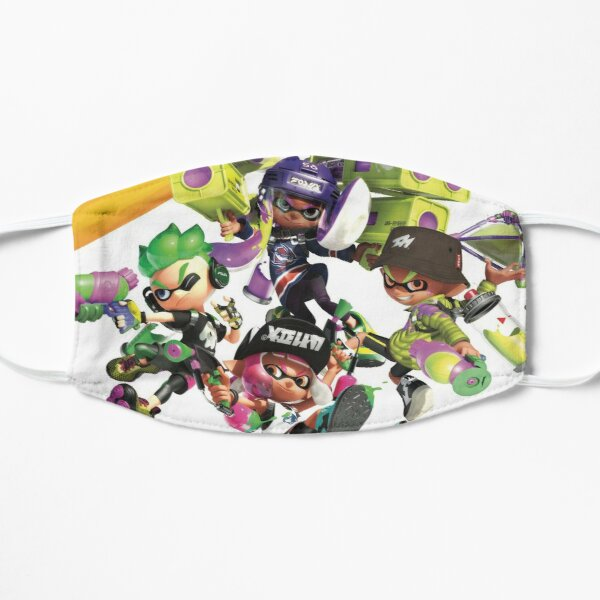 Splatoon 2 Poster Flat Mask