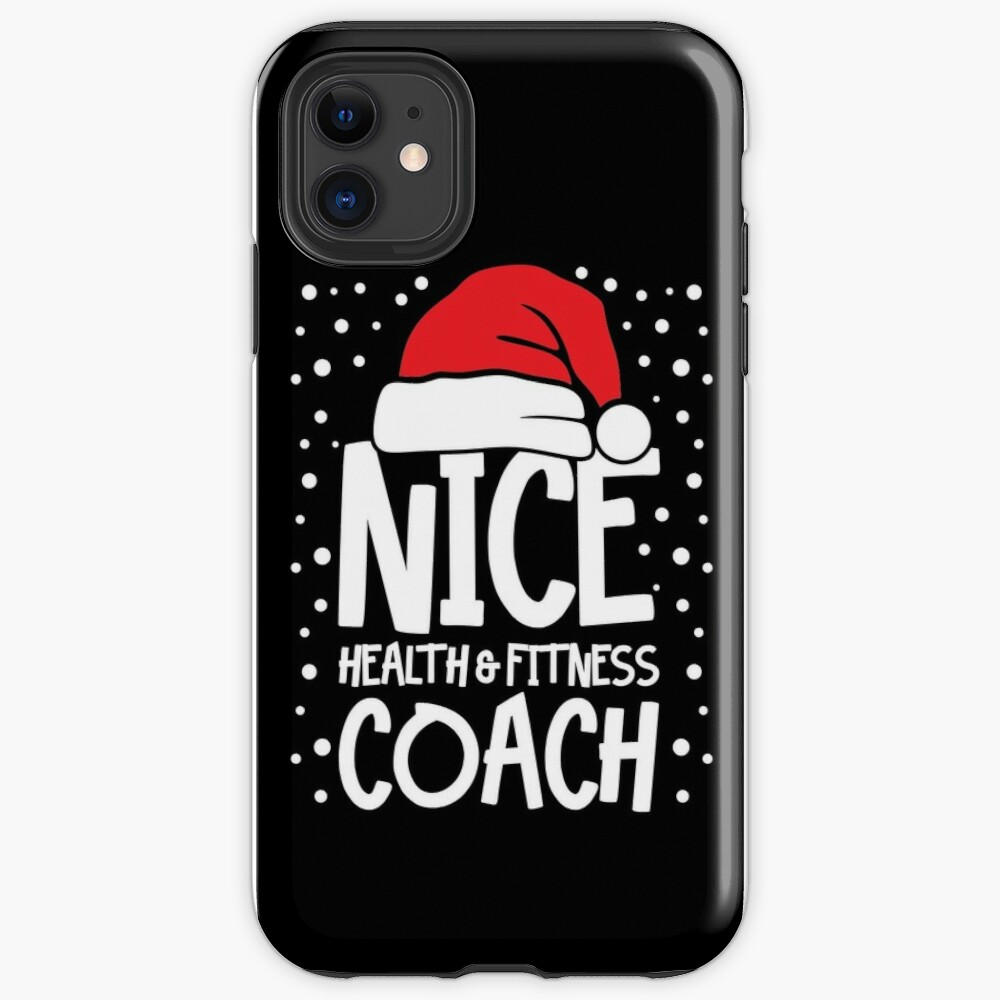 Nice Fitness Coach - Personal Trainer Christmas Gift iPhone Case & Cover