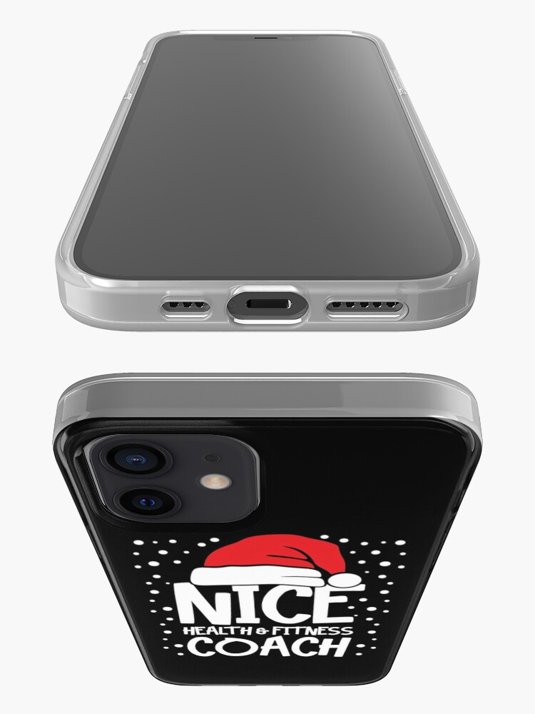 Alternate view of Nice Fitness Coach - Personal Trainer Christmas Gift iPhone Case & Cover
