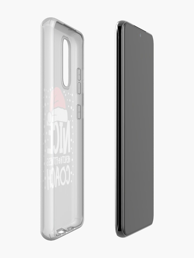 Alternate view of Nice Fitness Coach - Personal Trainer Christmas Gift Case & Skin for Samsung Galaxy
