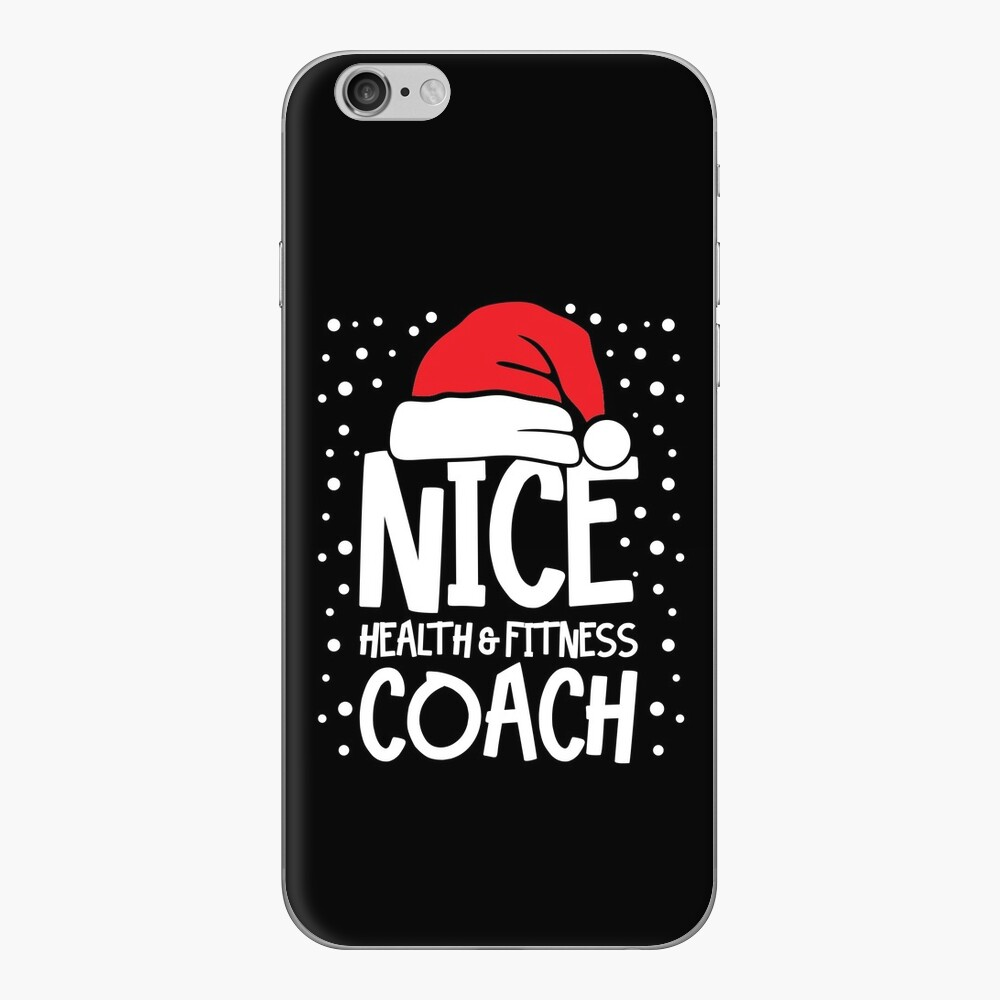Nice Fitness Coach - Personal Trainer Christmas Gift iPhone Skin