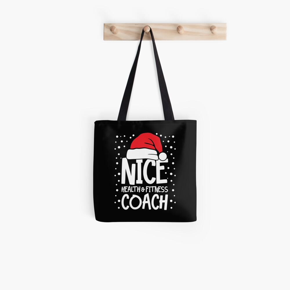 Nice Fitness Coach - Personal Trainer Christmas Gift Tote Bag
