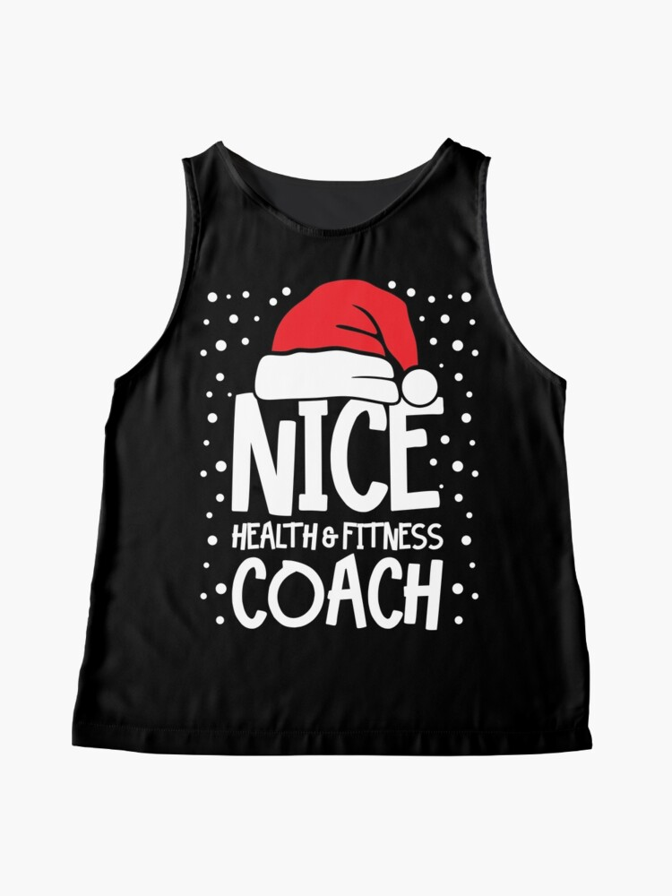 Alternate view of Nice Fitness Coach - Personal Trainer Christmas Gift Sleeveless Top