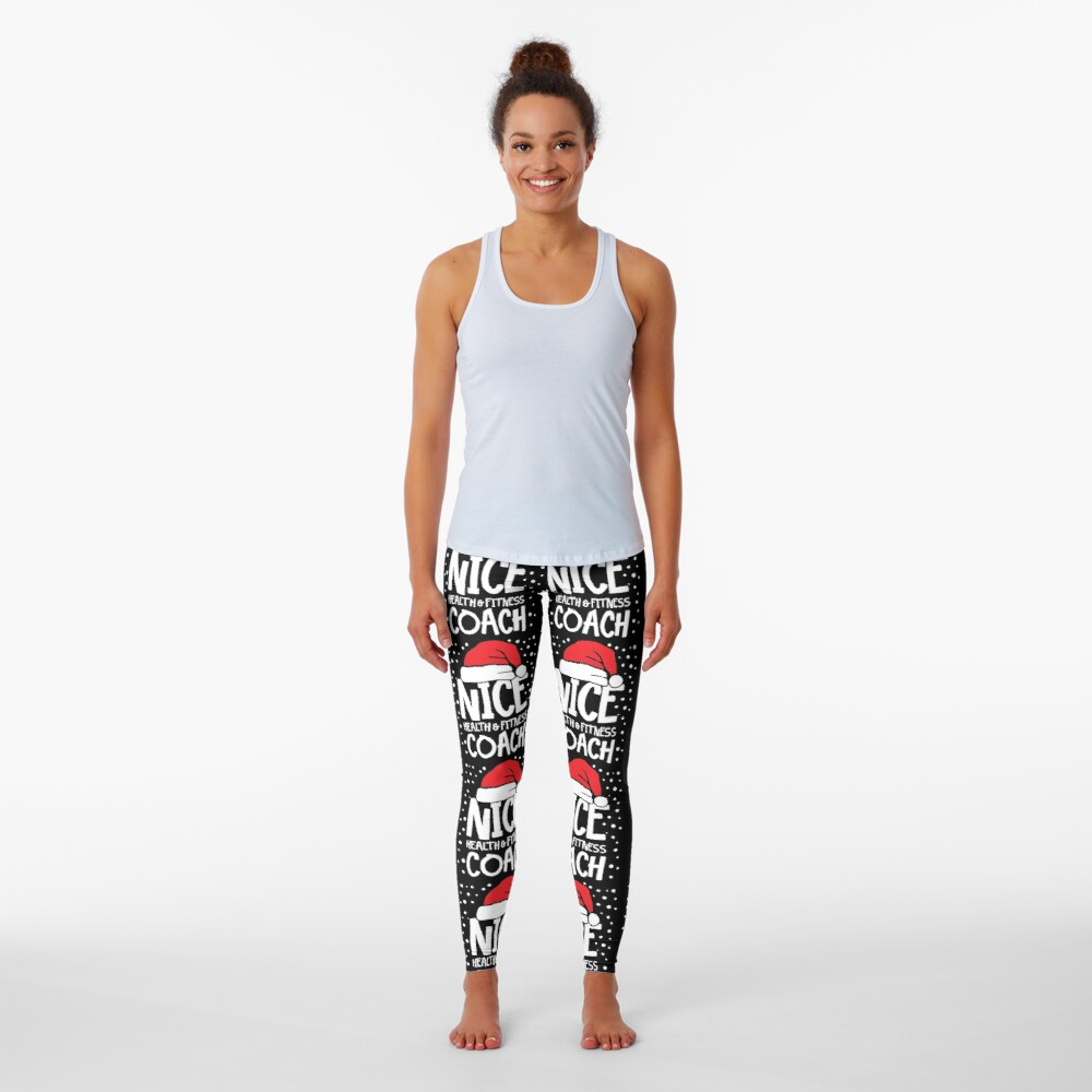 Nice Fitness Coach - Personal Trainer Christmas Gift Leggings