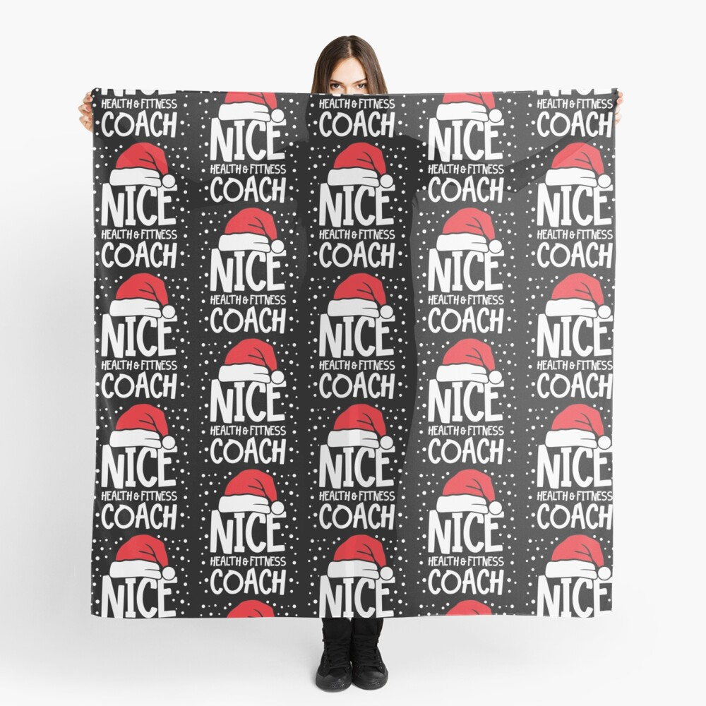 Nice Fitness Coach - Personal Trainer Christmas Gift Scarf