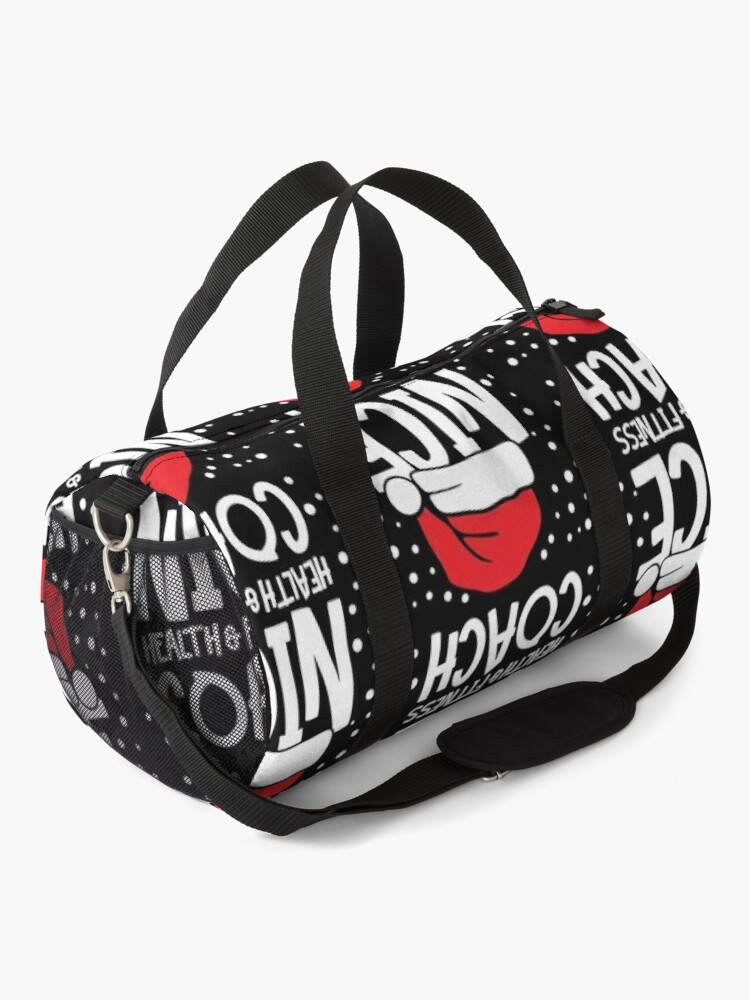 Alternate view of Nice Fitness Coach - Personal Trainer Christmas Gift Duffle Bag