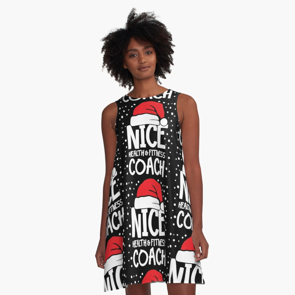 Nice Fitness Coach - Personal Trainer Christmas Gift A-Line Dress