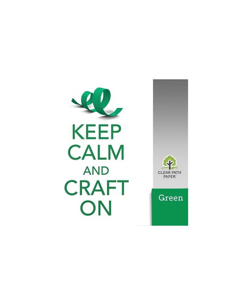 Keep Calm (Green) by clearpathdesign