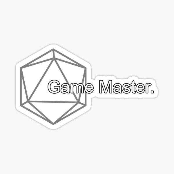 Simple Pathfinder Game Master for Pathfinder2e or D&D Sticker