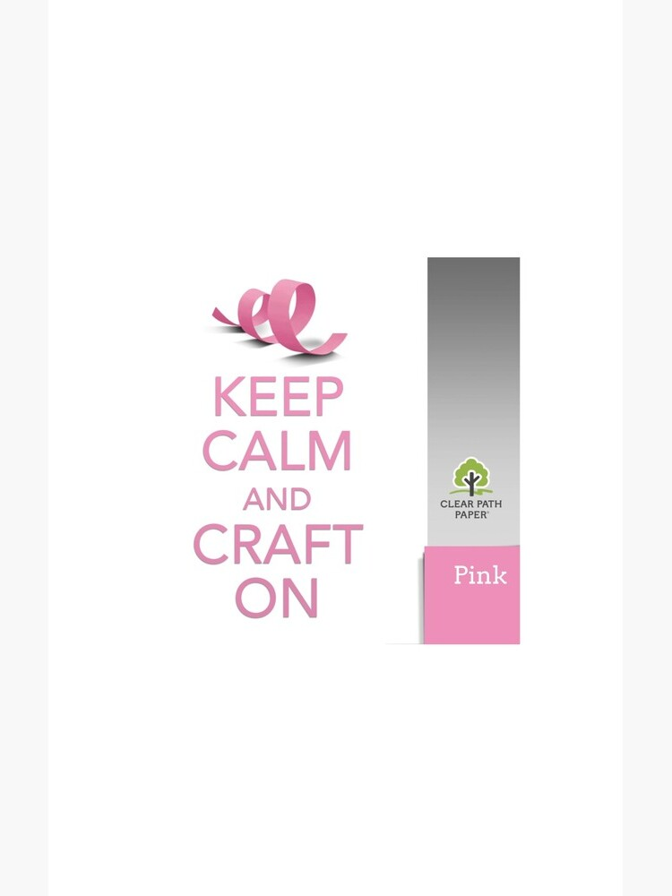 Keep Calm (Pink) by clearpathdesign