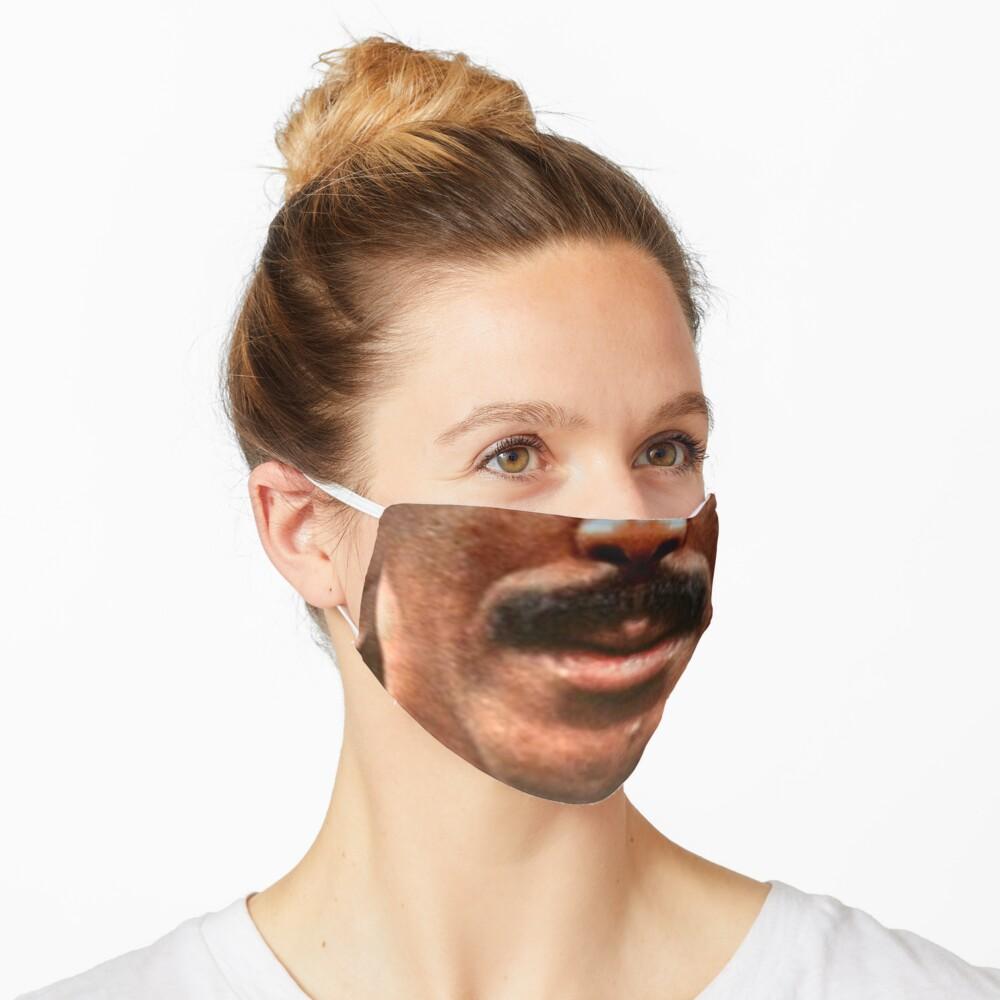 Moustache Art: The Richard Mask