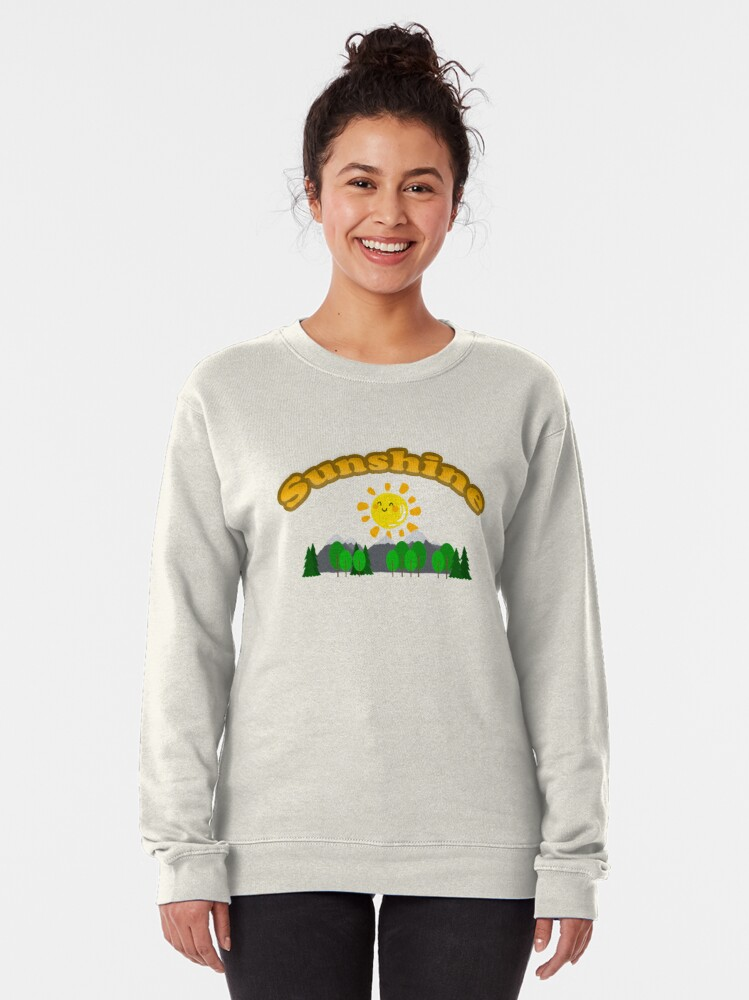 Alternate view of Sunshine - Beaver Scouter Scouts Leader Pullover Sweatshirt