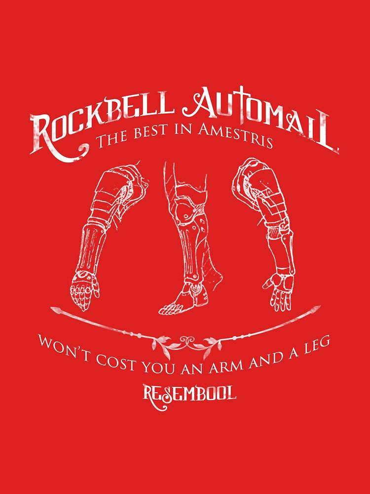 TShirtGifter presents: Rockbell Automail | Unisex T-Shirt