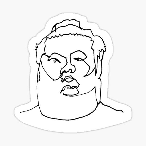 Chiyomaru - Rikishi - Sumo Wrestler Sticker