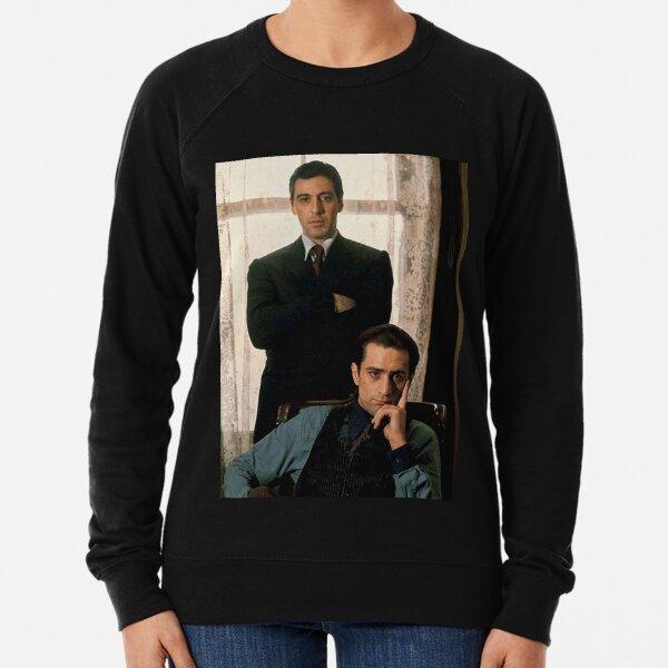 The Godfather - Al Pacino, Robert De Niro Lightweight Sweatshirt