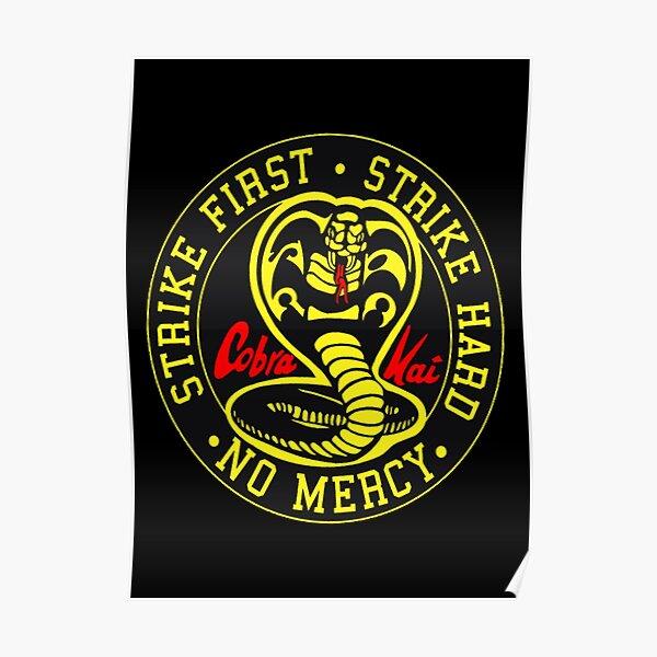 Tournoi de karaté Cobra Kai No Mercy Poster